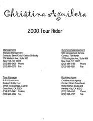 image:The Band Rider Series #4: Christina Aguilera